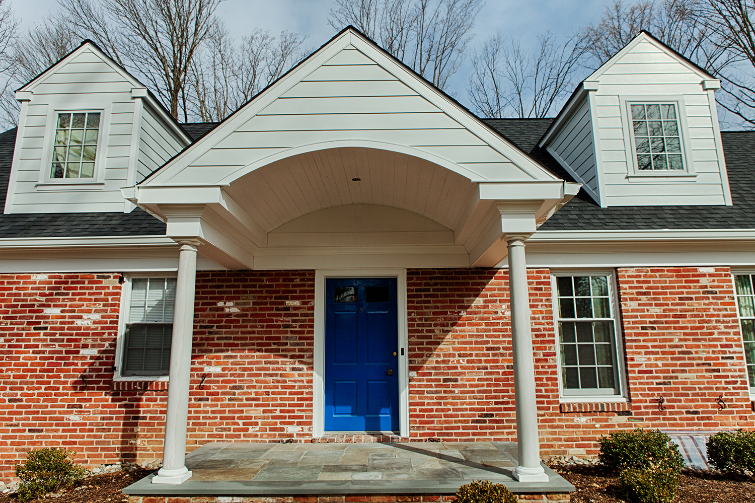 Wayne Portico and Front Porch